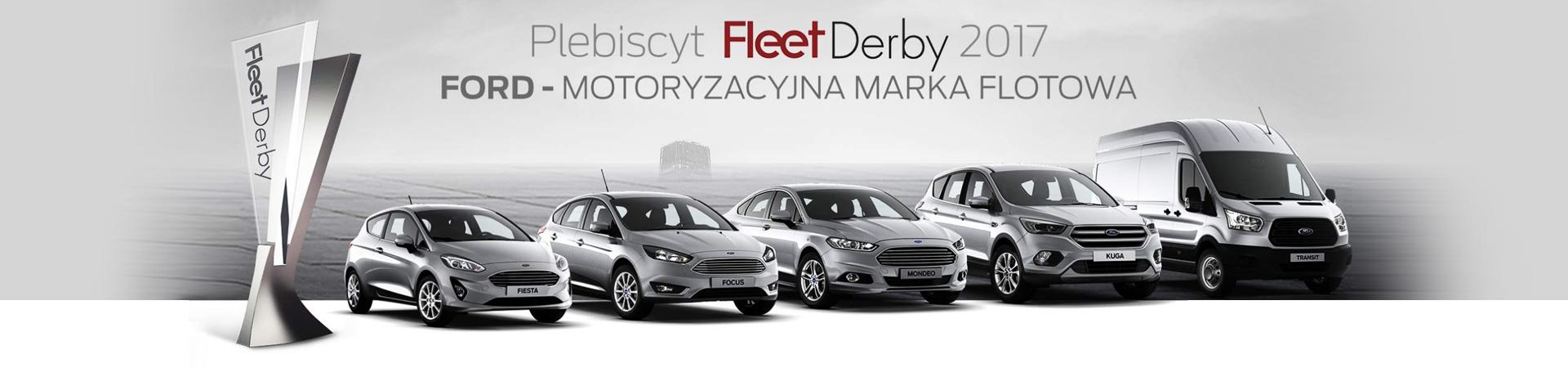 Ford marką flotową nr 1 w Polsce!